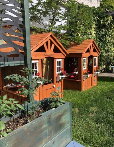 Montessori Outdoor Playhouses